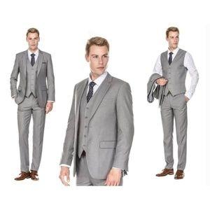 Braveman Gray 3 piece suit